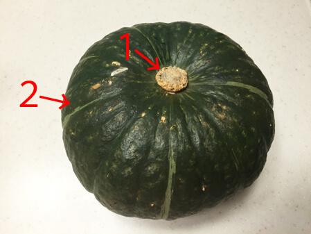 かぼちゃ パンプキン  美味しい 見分け方